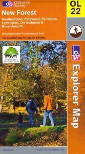 New-Forest-OL22-Explorer-Ordnance-Survey-Map