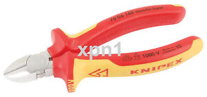 Knipex-70-06-140-VDE-Insulated-Diagonal-Side-Cutters-81254-NH