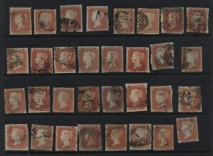 Great-Britain-3-59-used-stamps-lot-LOOK