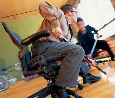 Large Herman Miller Aeron Ergonomic Computer Home Office Task Chair Size C