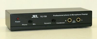 Tcc Tc 720  Mike  Riaa Phono Preamp