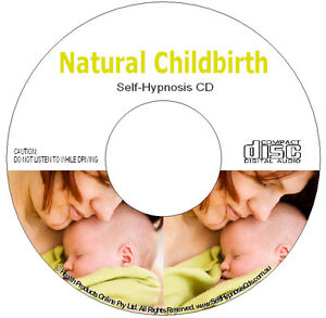 Natural Childbirth Hypnobirthing Hypnosis Audio CD - Pregnancy Birth Relaxation