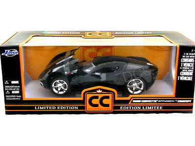 Jada 2009 Chevy Corvette Stingray Concept Black 1/18