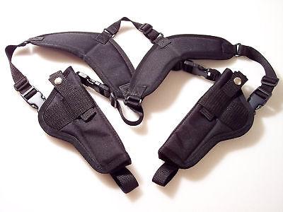 Standard Rig - Vertical Double Dual Shoulder Holster Beretta 92fs ..usa
