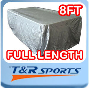 NEW! FULL LENGTH FITTED 8FT BILLIARD POOL TABLE COVER