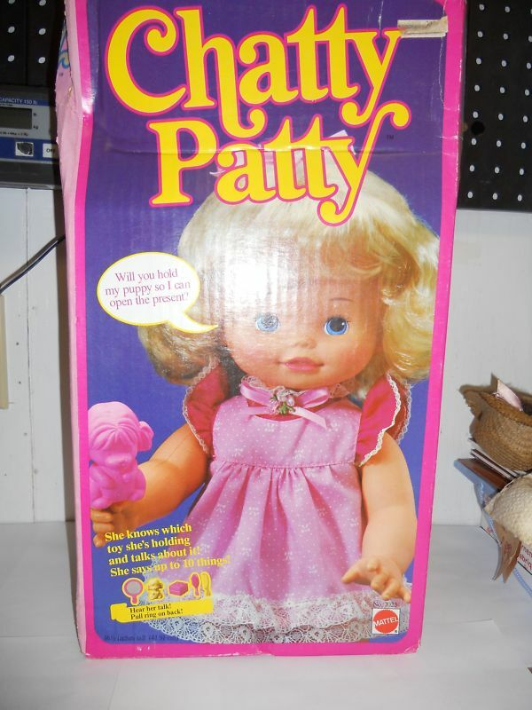 Mattel Chatty Patty Doll