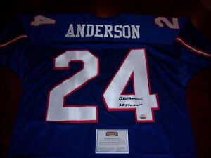 OTTIS-ANDERSON-GIANTS-SB-MVP-Mounted-Memories-COA-SIGNED-JERSEY