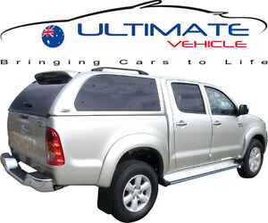 ULTIMATE CANOPY BRAND NEW MT GRAND fits Toyota Hilux Dual Cab Ute All Colors