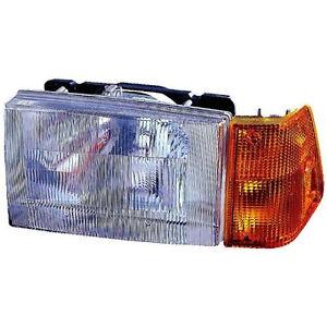 1988-1997-Volvo-Wia-Wiaes-Integral-Aero-Sleeper-Truck-Left-Headlight-with-Corner