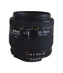 Nikon  Nikkor AF 35 mm - 70 mm F/3.3-4.5  Lens For Nikon