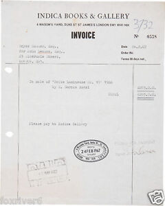 THE-BEATLES-JOHN-LENNON-Signed-Document-Rock-Star