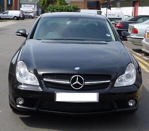 Mercedes-W219-CLS-Sport-Single-Slat-grille-grill-CLS320-CLS350-CLS500 ...