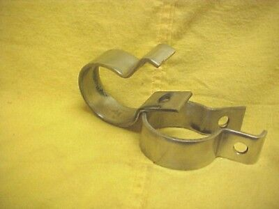 Harley,sportster,2 Stainless Muffler To Pipe Clamps