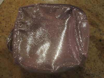 Avon 125th Anniversary Purple Cosmetic Makeup Bag
