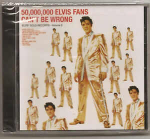 ELVIS PRESLEY, CD 50,000,000 FANS CAN'T BE WRONG