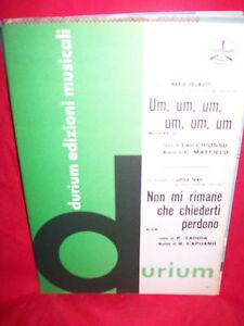LITTLE TONY Non mi rimane che ZELINOTTI Spartiti 1965 - Italia - Very happy or money back, no question asked! - Italia