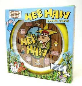 Hee-Haw-Talking-Sound-Wall-Clock