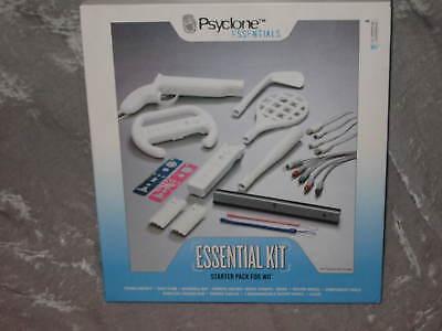 Wii Starter Essential Kit Game Nintendo Golf Tennis