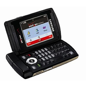 Mint-Verizon-Samsung-Alias-U740-QWERTY-Dual-Flip-Camera-No-Contract-Cell-Phone