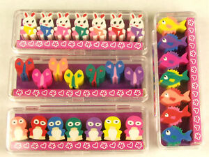 7-Piece-Cute-Mini-Animal-Pencil-Eraser-Set-Party-Loot-Bag-Pinyata-Fillers