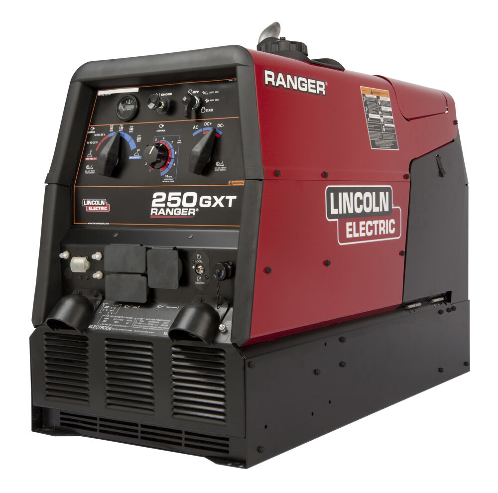 Lincoln Ranger 250 Gxt Engine Welder Generator K2382-4 With Cable Package