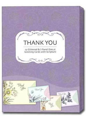 Whimsy Scriptured Thank You Cards Box Of 12