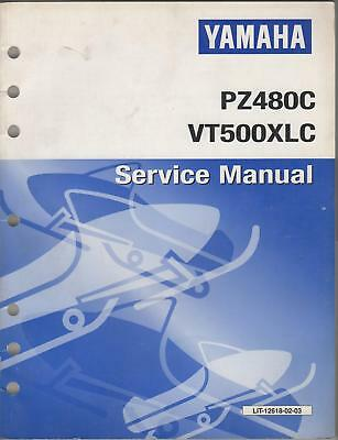 1999 YAMAHA SNOWMOBILE SERVICE MANUAL SEE LIST