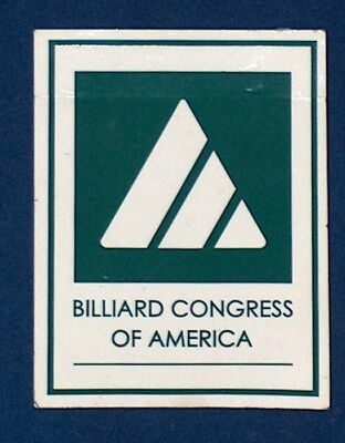 BCA BILLIARD CONGRESS OF AMERICA POOL STICKER LABEL NEW