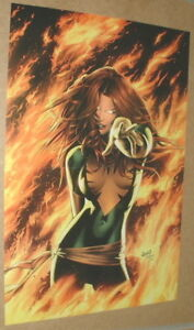 Just-In-Last-One-X-men-Phoenix-in-Green-by-Greg-Land-Marvel-Comics-Poster