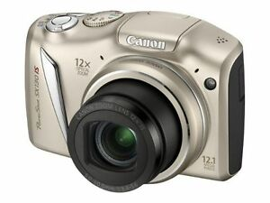 Canon-PowerShot-SX130-IS-12-1-MP-Digital-Camera-Refurbished