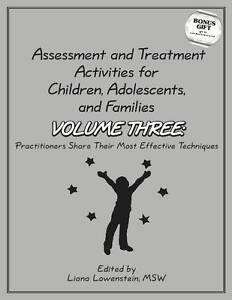 Assessment & Treatment Activities for Children, Adolescents & Families, Liana Lo