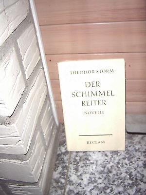 Der Schimmelreiter, eine Novelle von Theodor Storm