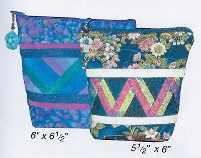 Bitty Bags paper foundation piecing quilt pattern - Foundation Piecing Quilt Pattern