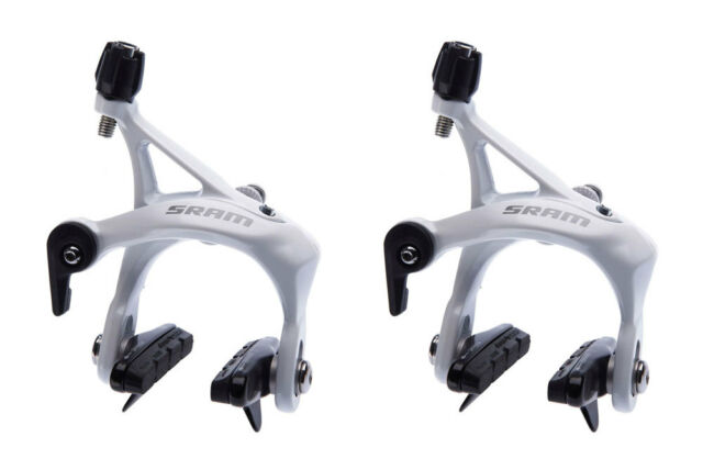 SRAM Apex  Road Bike Dual Pivot Brake Calipers - White