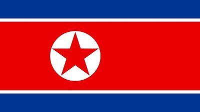 NORTH KOREA FLAG 5FT X 3FT
