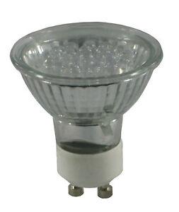 gu10 21 led bulb 10w halogen bulb equivalent blue ebay. Black Bedroom Furniture Sets. Home Design Ideas