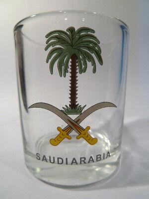 Saudi Arabia Shot Glass Shotglass