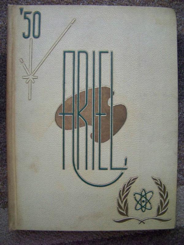 1950 Ariel, the University of Vermont Yearbook Burlington VT