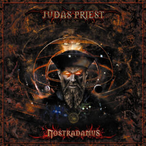 JUDAS PRIEST Nostradamus DOUBLE CD BRAND NEW