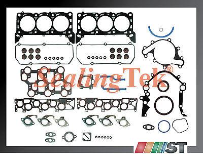 01-04 Ford Mustang 3.8l V6 Vin 4 Engine Full Gasket Set
