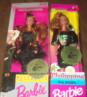 1996 & 1997 Foreign Philippine Barbies
