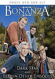 Bonanza  Dark Star And 11 Other Episodes DVD 2009 3Disc Set Box Set - <span itemprop=availableAtOrFrom>WINSFORD, Cheshire, United Kingdom</span> - Bonanza  Dark Star And 11 Other Episodes DVD 2009 3Disc Set Box Set - WINSFORD, Cheshire, United Kingdom