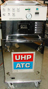 Gas-cart-wheels-stainless-steel-welded-tubing-valves-gauge-QAM-UHP-ATC-TC-0056