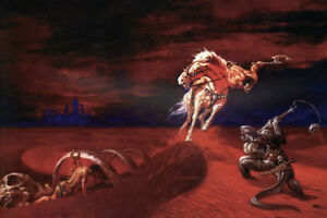 BLOOD-Of-The-LIZARD-GOD-Pin-Up-Poster-STERANKO-Art