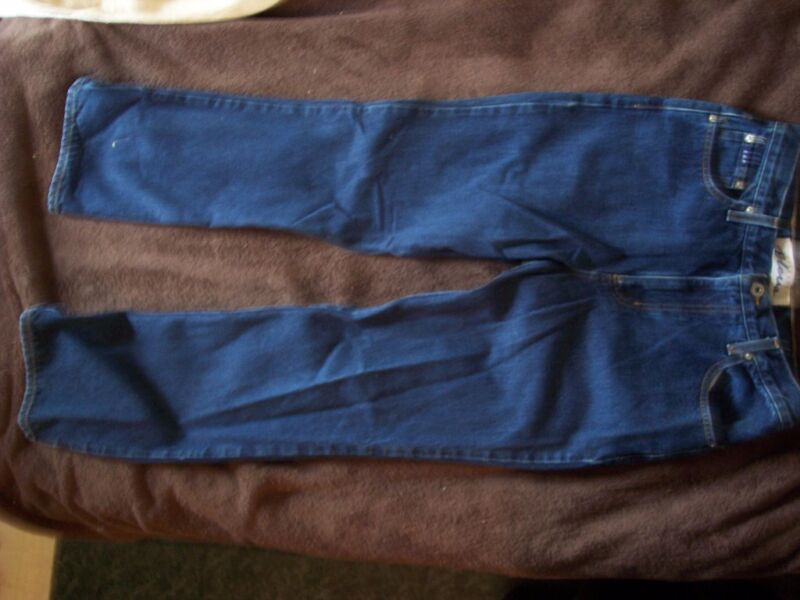 GENTLY USED EXPRESS BLUES 9/10R BOOT CUT BLUE JEANS
