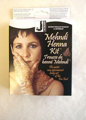 Jacquard Mehndi Henna Art Kit Brown