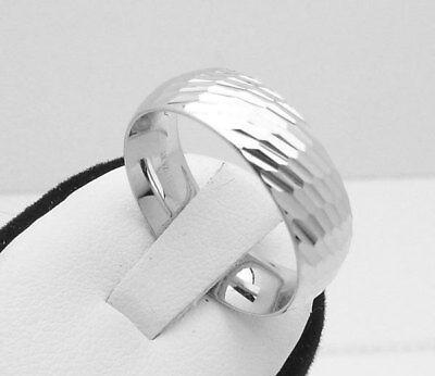 Epiphany Platinum Clad Silver Wedding Band Ring Qvc