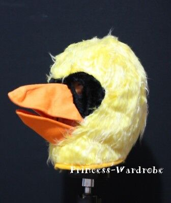 Halloween Yellow Duck Drake Hat Party Costume Cosplay Unisex Fix Size Headgear](Halloween Drake)