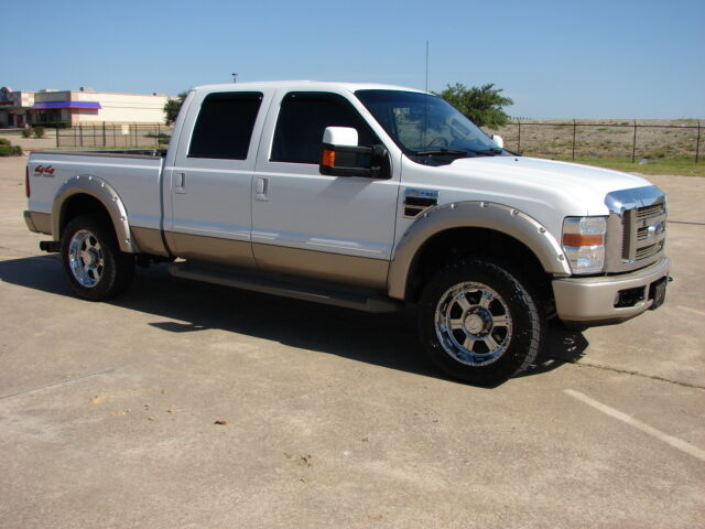 2008 Ford F-250 4x4 Crew Cab Diesel King Ranch LQQK