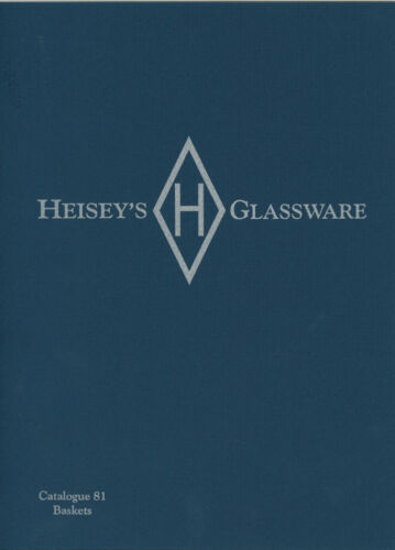 Heisey's Glassware Catalogue No. 81 Baskets
